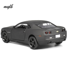 mylb New Licensed Diecast Metal 1:36 Scale Car Model For The Chevrolet Camaro Collection Alloy Model Pull Back Toys Car Matte