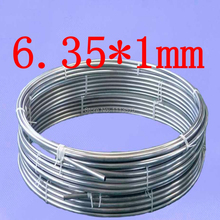 6.35*1mm,Stainless steel gas line pipe,stainless steel tube,stainless steel coil pipe
