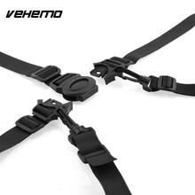 Buy Vehemo New Arrivla Baby Chair Stroller Pram Buggy Safe Belt Convenient 5-Point Durable Black Harness Strap Children Security for $3.92 in AliExpress store