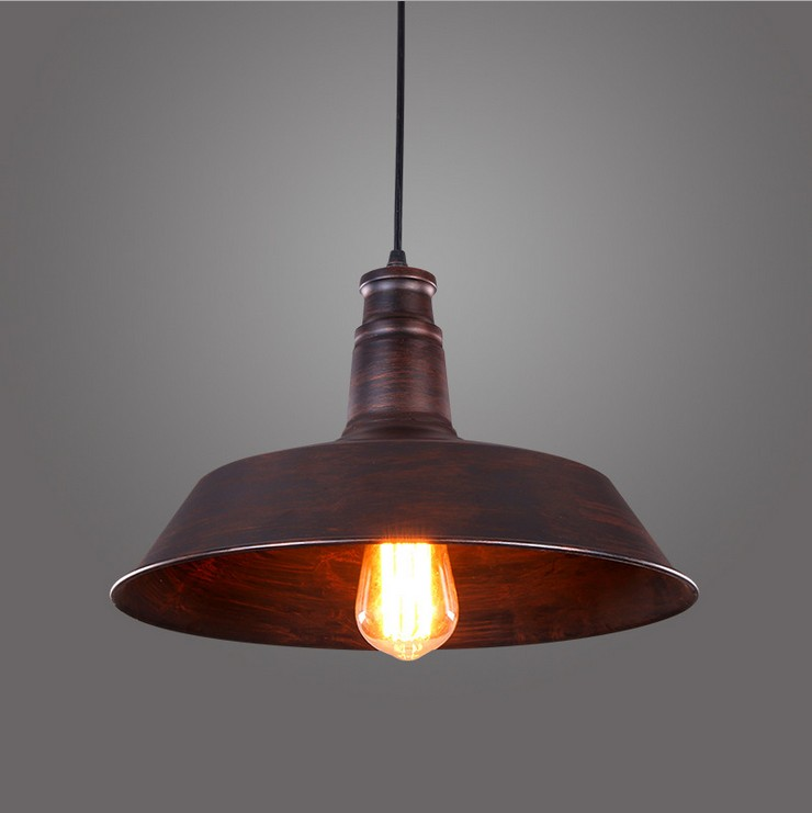 Nordic American country style retro personalized hotel industry Restaurant Cafe Bar hallway Iron Pendant lamp Lights Lighting<br><br>Aliexpress