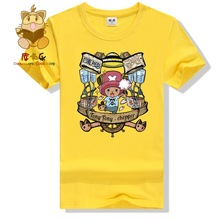 2016 new anime tee shirt One piece character Tony Tony chopper high quality anime fans t shirt comic con t shirt ac260(China)