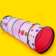 Cute gift Large educational toys child creeping tunnel dot print tunnel tube kids tent tunnel ZP1001