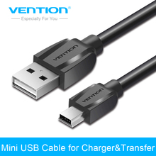 Vention Mini USB Cable 1m 1.5m 2m Mini USB to USB Data Charger Cable for Cellular Phone MP3 MP4 GPS Camera HDD Mobile Phone