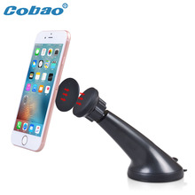 Car phone holder universal windshield magnetic phone holder stand magnet car mount holder for iPhone 5s 6 6s plus Galaxy s4 Note(China)