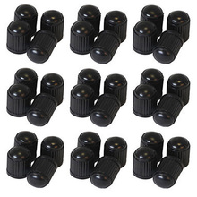 20pcs/LOT Plastic Bike Bicycle Valve Dust Caps Car Van Motorbike Tyre Tube Black(China)