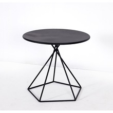 Coffee Tables Living Room Furniture Home Furniture mini iron art tea table simple modern portable bedside table circular new hot(China)