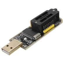 1PC USB Programmer CH341A Series Burner Chip 24 EEPROM BIOS Writer 25 SPI Flash Module Board(China)