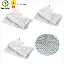 6Pcs Rectangle Mop Microfiber Replacement Cleaning Pads for Shark Steam Pocket Mops S3500 S3601 S3550 S3801CO S3901 Washable(China)