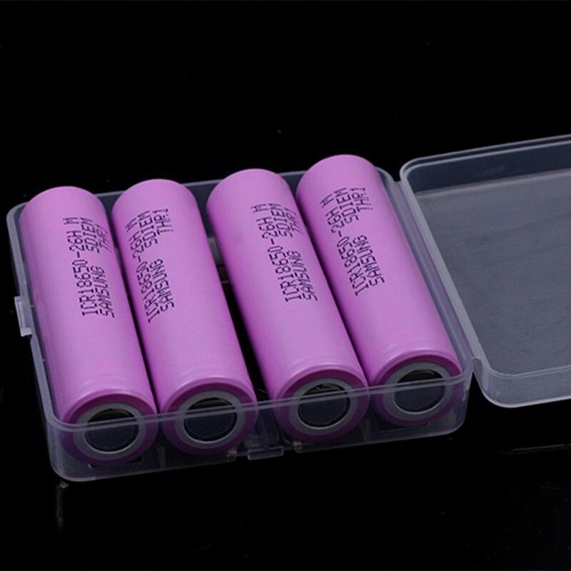 2/4 PCS Rechargeable 18650 rechargable Batteries 2600mAh ICR18650-26FM li-ion battery