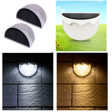 Buy Waterproof Solar Lamp Garden Decoration Wall Light LED Warm White Light Street Home Security Lighting White for $4.44 in AliExpress store