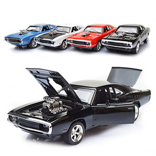 1:32 kids toys Fast & Furious 7 Dodge Charger metal toy cars model pull back car miniatures gifts for boys children