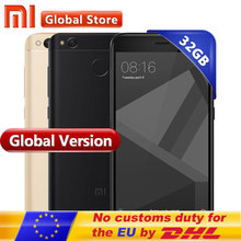 Global Version Xiaomi Redmi 4X 4 X Smartphone 3GB RAM 32GB Snapdragon 435 Octa Core CPU Adreno 505 GPU 4100mAh 13MP Camera MIUI(China)