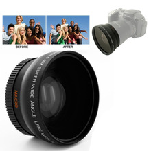 Brand New 0.45X 52mm Wide Angle Lens with Macro for Nikon Coolpix D40/ D60/ D70s/ D3000/ D3100/ D5000(China)
