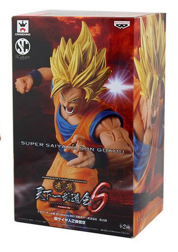 15cm Super Saiyan 2 Dragon Ball Z Goku Action Figure PVC Collection figures toys for christmas gift brinquedos with retail box<br><br>Aliexpress