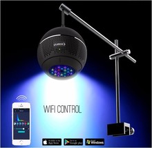 Aquasanrise All optical spectrum LED SPS LPS Full spectrum coral LED lamp A031 LED light water coral cylinder LED lamp WIFI