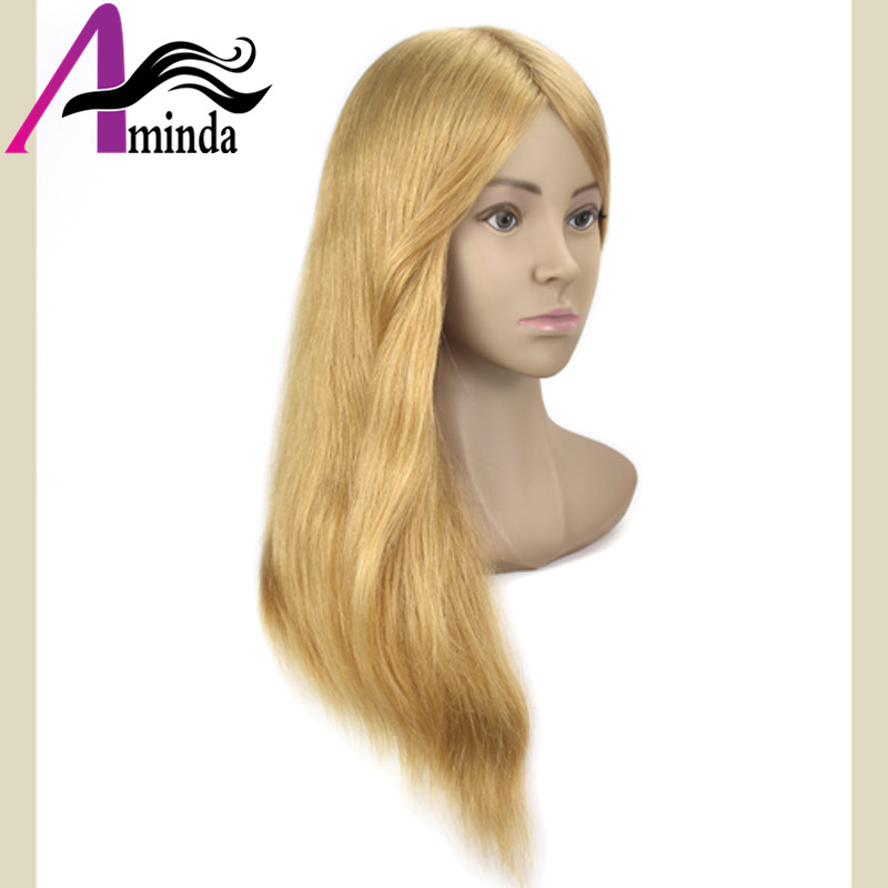 Salon Mannequin Head Practice Head Training Head For Barber HairStyles Doll Hairdressing Cosmetology Styling Manikin Head with Clamp (27)