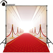 300*200cm(10ft*6.5ft) Wedding background red carpet gallery photography backdrops photo studio props baby