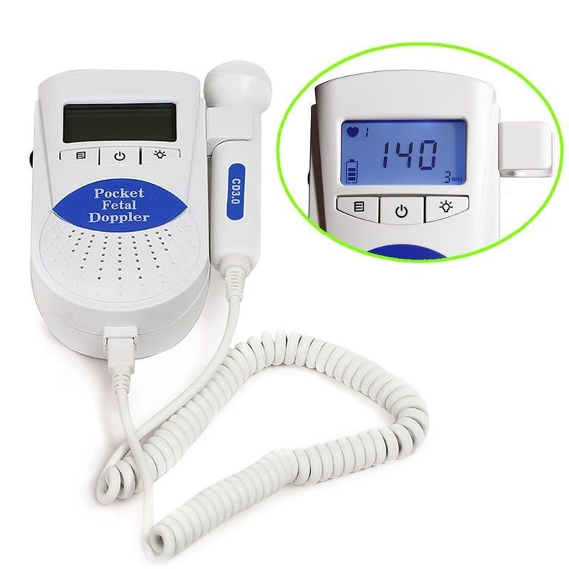Pocket Fetal doppler SONOLINE B 3M backlight LCD baby monitor+ Free Gel+ Battery,USA Sale<br>
