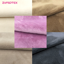 ZYFMPTEX Cheap 5mm Pile Wool Felt Fabric Patchwork For Apparel Sewing & Fabric Textile Tissu Cloth Dolls Material Plush Fabric(China)
