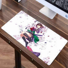 FFFAS 80 x 40cm XL Japan Anime large Mouse pad gaming Mousepad your wife girl friend gift Katou Megumi Eriri beautiful desk mat(China)