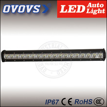 ovovs wholesale prices 12v single row led offroad driving light bar 90w car roof top lights for trucks 4x4 ATV SUV