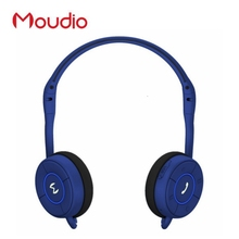 Moudio Brand Sports Jogger Headphone Bluetooth Foldable Overear Earphones With Microphone For Pc Mobile Phones(China)