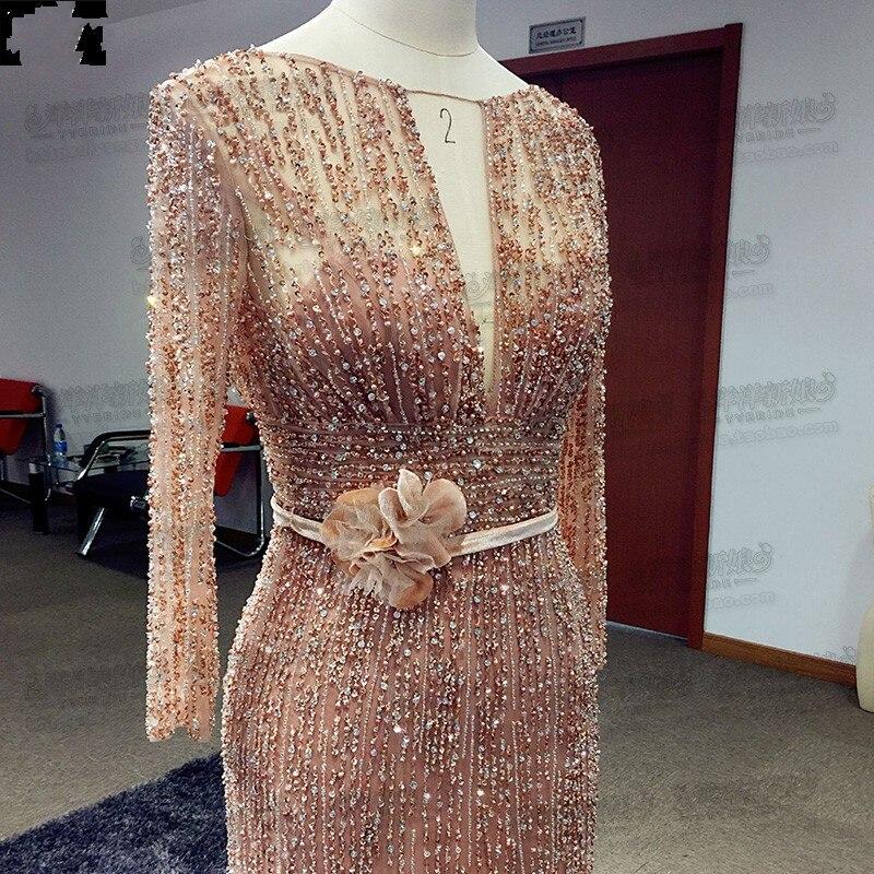 hande-made evening dress