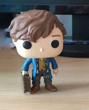 100pcs/lot Fantastic Beasts And Where to Find Them Newt Scamander with Case Vinyl Action Figure Free Express