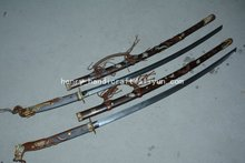 Collectable Old WWII Japanese Samurai Katana/ DAO/sword,A Pair,Dragon&Phoneix