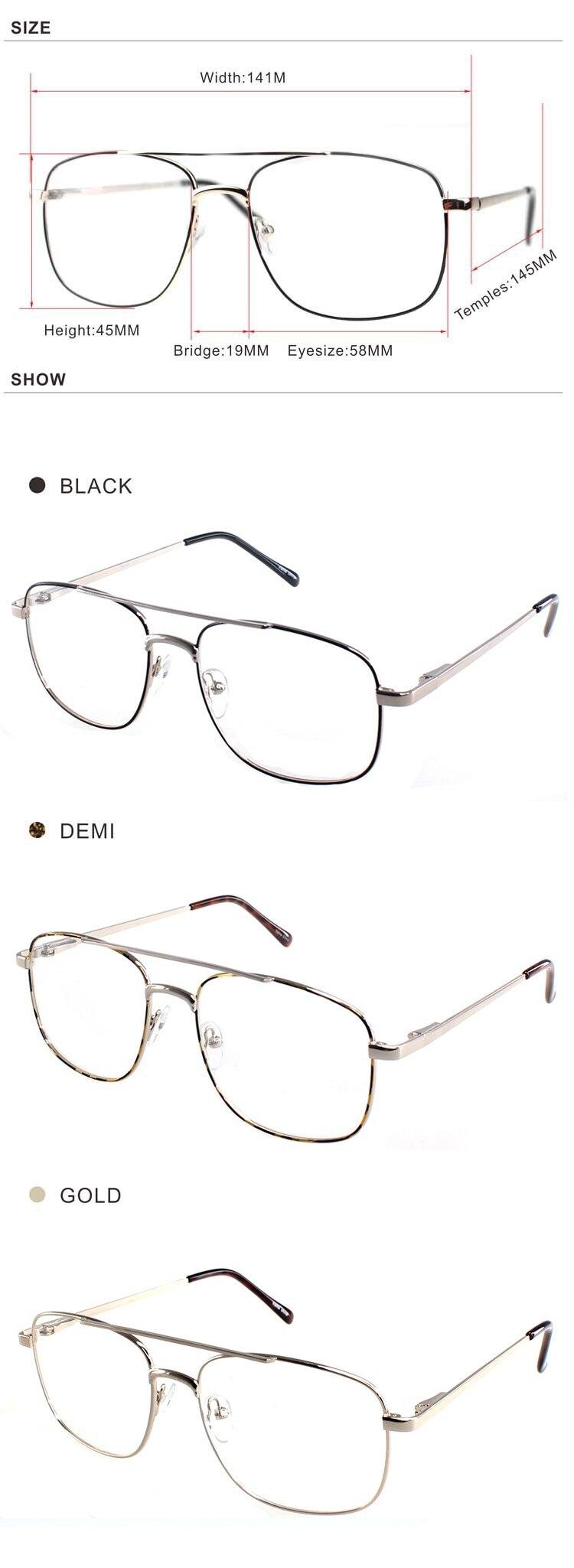 ZENOIC 2018 Retro Brand Design EyeGlasses Frame Men Vintage Gold Metal Optical Oculos De Grau Classical Couple Eyewear glasses (2)