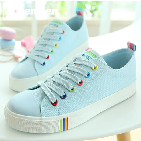 Spring and Autumn Breathable Canvas Shoes Women Men Lovers Shoes Fashion shoes for Women Brand Shoes renben Free Shipping<br><br>Aliexpress