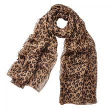 Fashion Design 1Pc Shawl Spring Autumn Long Leopard Scarf Wrap Lady Chiffon Scarves About 155*40cm