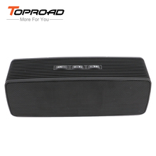 TOPROAD Mini Bluetooth Speaker Wireless Subwoofer Altavoz Loudspeakers Support FM Audio TF Handsfree Boombox parlante For Phone(China)