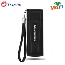 4G Wifi Modem USB 3G 4G router Unlocked Pocket Network Hotspot Wi-Fi Routers Wireless Modem with SIM Card Slot(China)