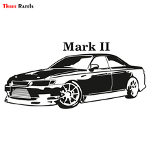 Three Ratels TRL655# 15x7cm funny car stickers for toyota Mark II mark 2 colorful