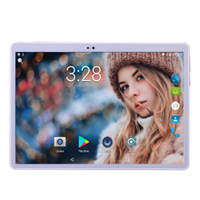 New Tablet Android 7.0 4G LTE 3G WCDMA 10 inch 1280*800 IPS Screen Android Tablet Octa Core Dual Camera GPS BT Free Shipping(China)