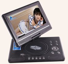 9.8 Inch Portable DVD Player with 9 Inch TFT-LCD Display Screen 270 Rotating Game Analog TV USB & SD Card Slots VCD CD MP3 Play(China)