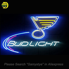 Bud Sports Team LSB Neon Signs Handcrafted Neon Bulbs Glass Tube Decorate Windows Shop beer Bar Pub signs outdoor Lighted sign(China)