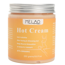 Organic Anti-Cellulite Slimming Body Scrub Cream Fat Burning Anti Cellulite Slimming Body Cream Lotion Fast Lose Weight Cream(China)