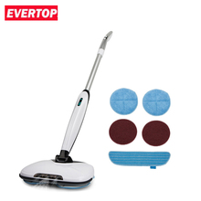 EVERTOP Electric Rotating Floor Washers Rotating Floor Cleaner Electric Hand-hold Waxing Machine Household Mop(China)