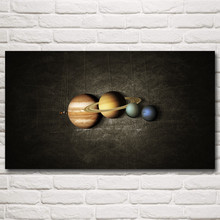 Space Universe Planet Mercury Venus Earth Mars Art Silk Poster Prints Home Decor Pictures 11x20 16x29 20x36 Inches Free Shipping