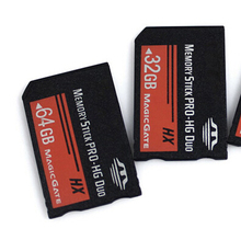 Real Capacity MS HG 64GB Memory Stick Pro Duo Memory Cards for Sony PSP and other Phone tablet camera