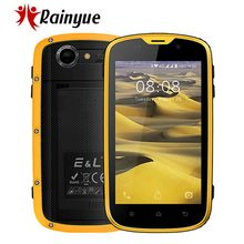 "E&L W5S Waterproof Shockproof IP68 Mobile Phone 1GB+8GB 2800mAh Android 6.0 Global version 4"" Quad Core 5MP 3G WCDMA Smartphone(China)"