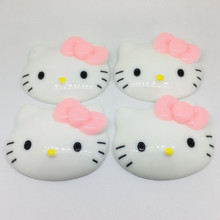 50*45mm Hello Kitty Kawaii Sweets Deco Decoden accessories Flatback Resin Cabochons, DIY phone Decoration 20pcs()