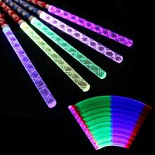 1Pc Led Foam Stick Light Colorful Flashing Glow Baton For Wedding Concert Party Decoration #45(China)