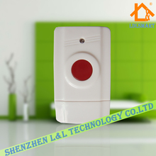 1 pieces/lot wireless panic button used for emergency help SOS wireless 433mhz / 315mhz home security alarm system(China)