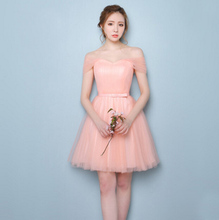 junior peach braidsmaid cheap fashion sleeveless size 6 formal dress bridesmaid short party dresses for teens girl or 2016 H3628