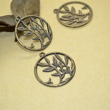 Buy 10Pcs Zinc Alloy Antique Bronze tree Charm DIY Jewelry Making 31*28mm 1468 for $1.31 in AliExpress store