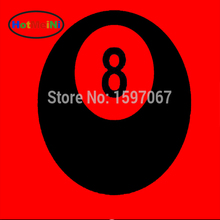 HotMeiNi 8 Eight Ball Pool Snooker Graphic Sticker Car Window Truck Door Toolbox Fuel Tank Cap Vinyl Decal(China)