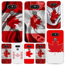 Canada Flag Clear Cell Phone Case Cover Shell for LG K3 K4 K8 K10 G3 G4 G5 G6 2017 V10 V20 K5 stylus3(China)